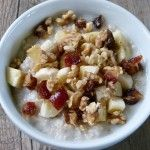 We eat a lot of oatmeal in this house for so many reasons. It is nutritious, filling, inexpensive and incredibly easy to make. Oatmeal is high in soluble fiber (the kind that helps reduce the absorption of cholesterol by the bloodstream), as well  ...