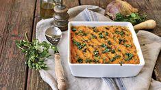 Unser Rezept: Gemüseauflauf In diesem veganen Auflauf feiern altmodische Gemüsesorten ihr Comeback - und werden in 70 Minuten zubereitet. Rezepte Oven