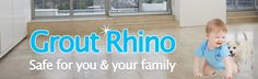 Grout Rhino uses only environmentally friendly and professionally made products to keep your tile floor safe for you and your loved ones. Check out our website for more information! http://www.groutrhino.com/tile-cleaning-tampa/