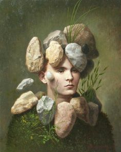 Man with Stones, Steven Kenny, 2004