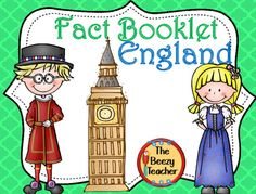 This fact booklet on England is a great resource to use for a research project…