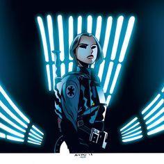 Jyn Erso - Michael Avon Oeming, Colors: Kelsey Shannon
