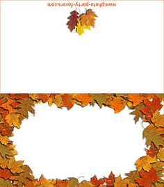 Fall Leaves Printable Cut Outs | Printable Fall Leaves Cut Outs Blog Abi
