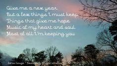 A New Year (tanka) 1/3/16