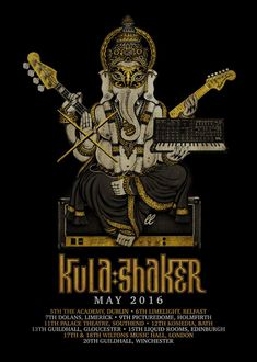 The awesome Kula Shaker have announced a UK tour. Tickets go on sale this Friday at 10 a.m. Details: 5th May The Academy, DUBLIN 6th May Limelight, BELFAST 7th May Dolans, LIMERICK 9th May Pictured…