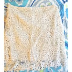 Forever21 crochet skirt Forever21 crochet skirt. Worn once, perfect condition. Size M. Forever 21 Skirts