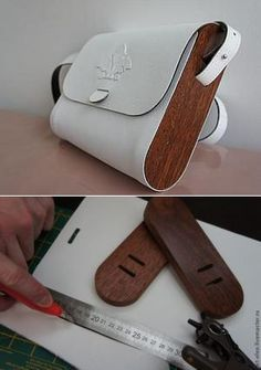 Wood inserts into a bag - Love it!!