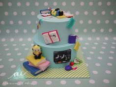 Minion studenten taart