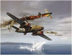 The Joker by Jack Fellows Aviation Art Prints A-20 Havoc