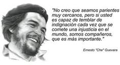 Despertad Pueblo Despertad added 67 new photos to the album: Revoluciona Tu Mente — with Zbigniew Cołbecki and 95 others. Ernesto Che Guevara, Quote Of The Week, Faith In Humanity, Revolutionaries, Cover Photos, Wise Words, Best Quotes, Life Quotes, Quotations