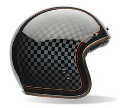 BELL Custom 500 RSD Check-it - an open face helmet with design of ROLAND SANDS DESIGN. Great looking style.