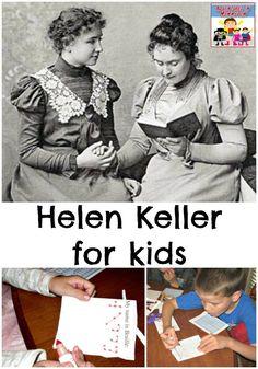 Helen Keller for kids