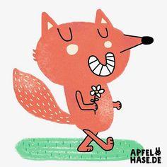 Einfach mal einen Fuchs dazwischen werfen. #fuchs #fox #foxesofinstagram #illustration #illustratorsofinstagram #apfelhase #füchse #foxes #draw #drawing #daily #dailyart #doodle #character #cute #animals #happy #spring #frühling #happyfox #zeichnen #malen #draweveryday #drawsomething #collab