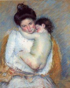 Mother and Child - Mary Cassatt