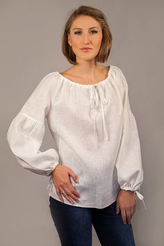 Hey, I found this really awesome Etsy listing at https://www.etsy.com/listing/113473698/linen-peasant-blouse-for-woman-linen