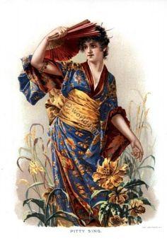 Pitti-Sing. Victorian opera character.