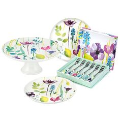 Kaleidoscope have a range of kitchen, cookware & tableware to help you create the ultimate cooking & dining experience Dining Plates, Serving Plates, Kitchen Dining, Utensil Storage, Jar Storage, Afternoon Tea Set, Wrendale Designs, Pedestal Cake Stand, Egg Holder