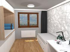 Dětský pokoj pro malého technika – RD Moravičany   očkodesign Alcove, Bathtub, Bathroom, Standing Bath, Washroom, Bathtubs, Bath Tube, Full Bath, Bath