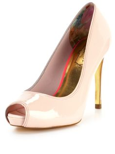 c057cabbdf72 Ted Baker Glister Peep Toe Court Shoes