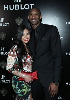 Kobe Bryant Photos - Vanessa Bryant and Los Angeles Laker Kobe Bryant attend the celebration of Hublot's new brand ambassador Kobe Bryant on March 2013 in Los Angeles, California. - Hublot Celebrates New Brand Ambassador Kobe Bryant Kobe Bryant Family, Kobe Bryant And Wife, Lakers Kobe Bryant, Kobe Brayant, Kobe Bryant Quotes, Kevin Durant Shoes, Kobe Bryant Pictures, Vanessa Bryant, Kobe Bryant Black Mamba