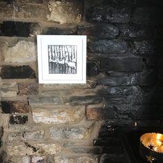 Instagram Site, Snowy Woods, Inglenook Fireplace, Prints For Sale, Gouache, Painting Frames, Layering, Original Paintings, Website
