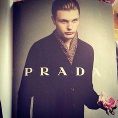 Michael Pitt for Prada. Shot in London.