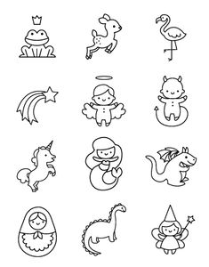Les illustrations au design exclusif Happybulle Les illustrations au design exclusif Happybulle More from my siteANIME EYES Mini Drawings, Cute Easy Drawings, Kawaii Drawings, Doodle Drawings, Hipster Drawings, Tattoo Drawings, Pencil Drawings, Kawaii Doodles, Cute Doodles