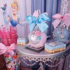 VillaHermosaEvents's Birthday / Cinderella - Cinderella Theme Birthday at Catch My Party Princess Theme Cake, Princess Birthday Party Decorations, Princess Party Favors, Disney Princess Party, Birthday Party Themes, Girl Birthday, Birthday Crowns, Princess Crowns, Cinderella Quinceanera Themes