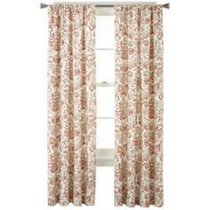 Home Expressions™ Tessa Thermal Back Rod-Pocket Curtain Panel - JCPenney