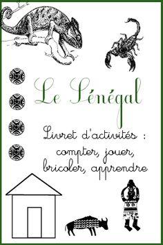 Découvrez un fichier d'activités sur le Sénégal de 23 pages, pour les enfants de maternelle + de nombreux liens vers d'autres idées, vidéos et livres.