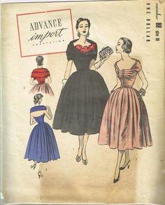 Advance Import Adaptation 88 | 1950s Cocktail Dress