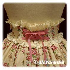 Time of the Roses Skirt - AaTP, BTSSB - back detail