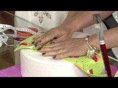 Aprenda a fazer um lindo porta-bolo! - YouTube