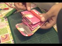 Hacer monederos reciclando telas. Tissus recyclés diy. - YouTube
