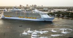 Harmony of the Seas departed Port Everglades for the first time Saturday, November 5 (Photo: Royal Caribbean)