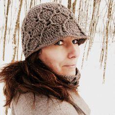 Basma Hat Crochet Pattern via Etsy.