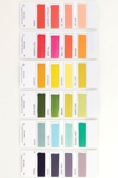 palette of the week « plenty of colour