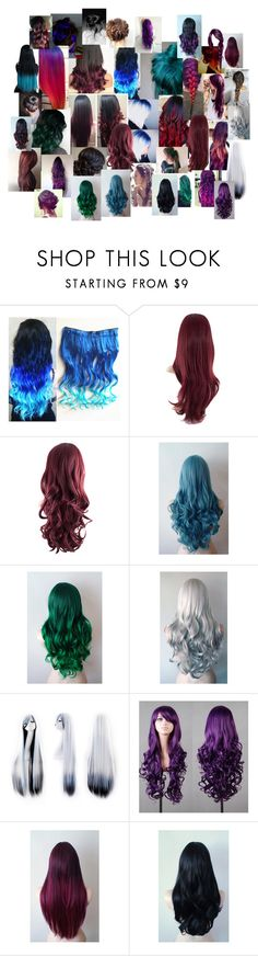 """Hair Colours and Styles"" by merlinchick ❤ liked on Polyvore featuring beauty"