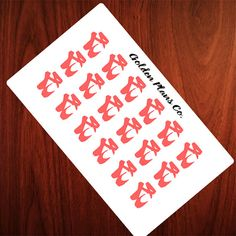 BALLET PLANNER STICKERS |Perfect For your Erin Condren, Filofax , Kiki K, Plum Paper, Carpe Diem and other planner