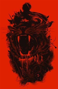 The King by nicebleed , via Behance