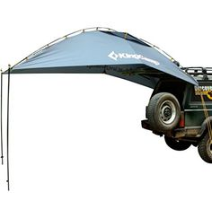 KingCamp COMPASS Outdoor Car Canopy Tent , Fit for 4 ¨C 6 Persons, Multipurpose, Larger Shade, Durable, Waterproof, Easy to Carry