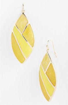 'Mosaics' Drop Earrings