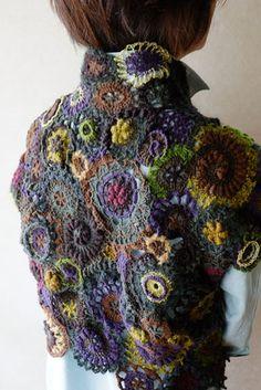 Fabulous Crochet a Little Black Crochet Dress Ideas. Fabulously Georgeous Crochet a Little Black Crochet Dress Ideas. Crochet Geek, Irish Crochet, Free Crochet, Freeform Crochet, Crochet Shawl, Knit Crochet, Crochet Edgings, Crochet Tops, Black Crochet Dress