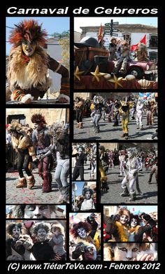 """En el Carnaval Provincial 2012 de Cebreros, la comparsa """"Broadway/Cats"""" de Arenas de San Pedro obtuvo el primer premio."""