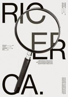 """attico36:  """"Artwork for Italianism Conference.  Il Design della Parola. http://italianism.it  """""""
