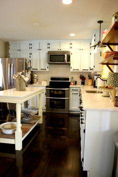 Jenna's Renovated Modern Country Kitchen - http://akadesign.ca/jennas-renovated-modern-country-kitchen/