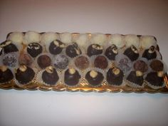 Cioccolatini simil raffaello, alle mandorle, tartufi