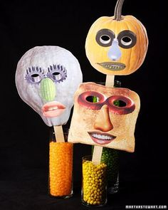 Collage Halloween Masks How-To