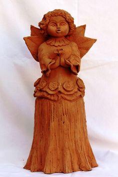 Escultura com massa cerâmica