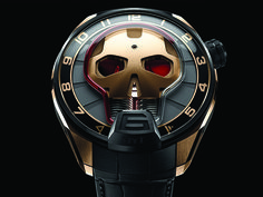 Innovation meets edge in the new HYT Skull watch
